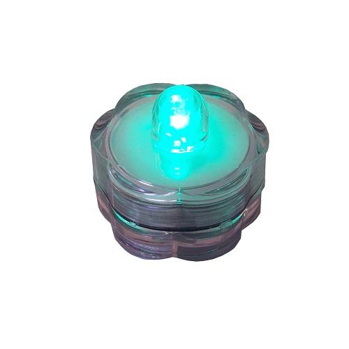 LED-Teelicht grün Wasserdicht 39802
