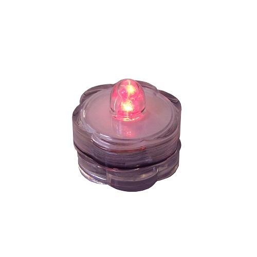 LED-Teelicht rot Wasserdicht 39804
