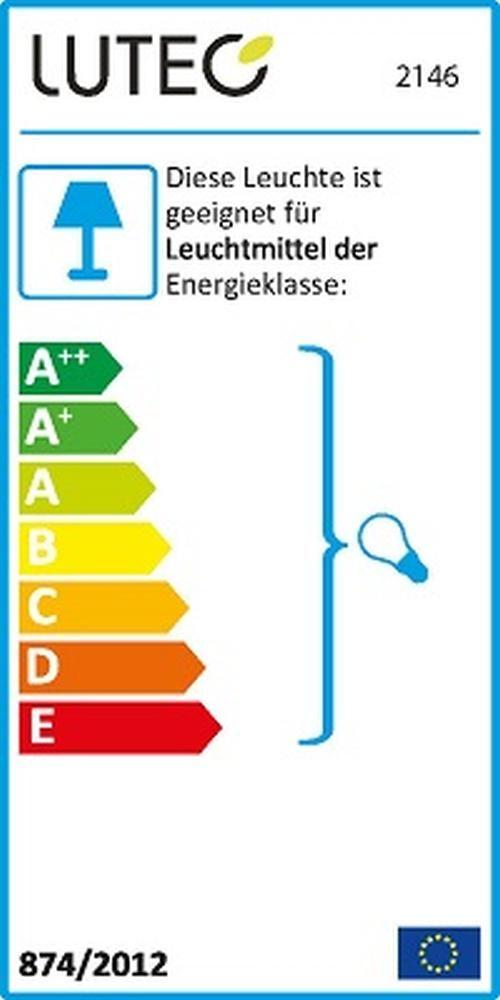 Alu Außenwandleuchte GEOMETRY silber E27 11,9x26,3x11,4cm UME 2146-SI Eco-Light