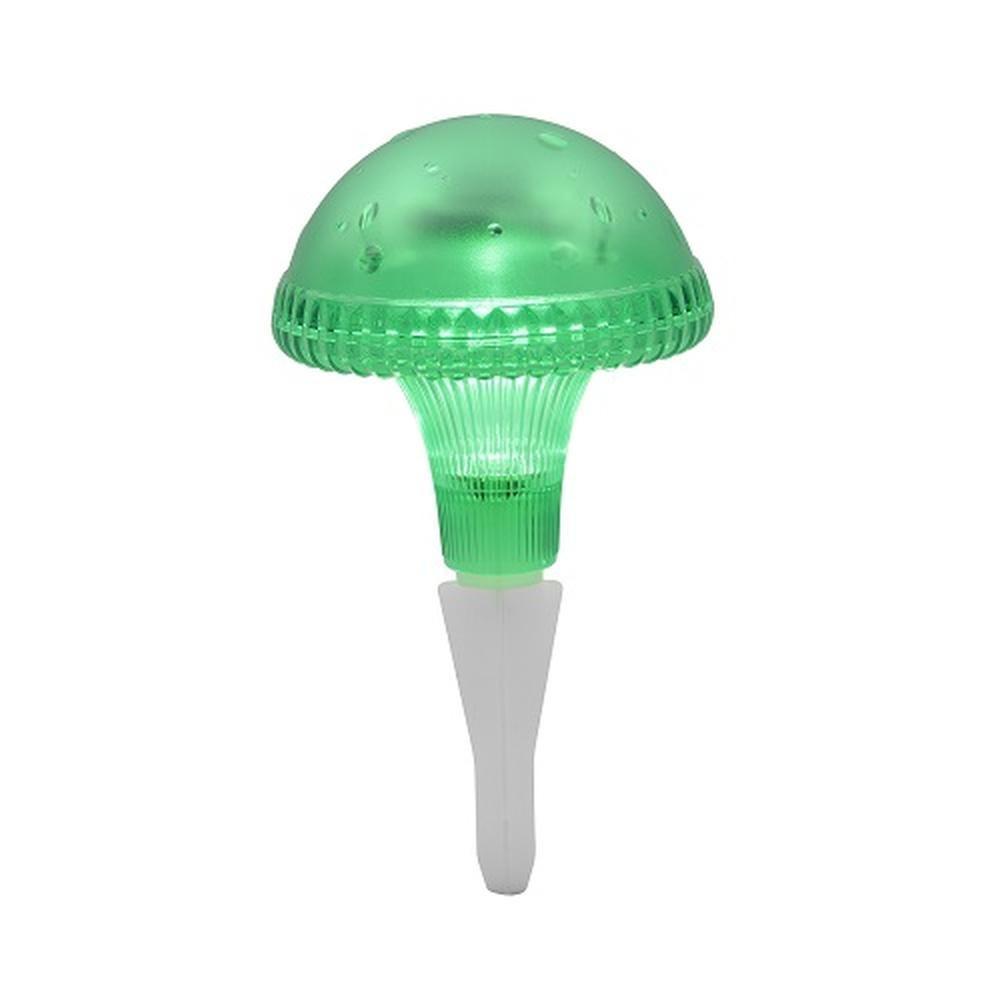 LED Solarleuchte Solarlampe Pilz grün Konstsmide 7663-600