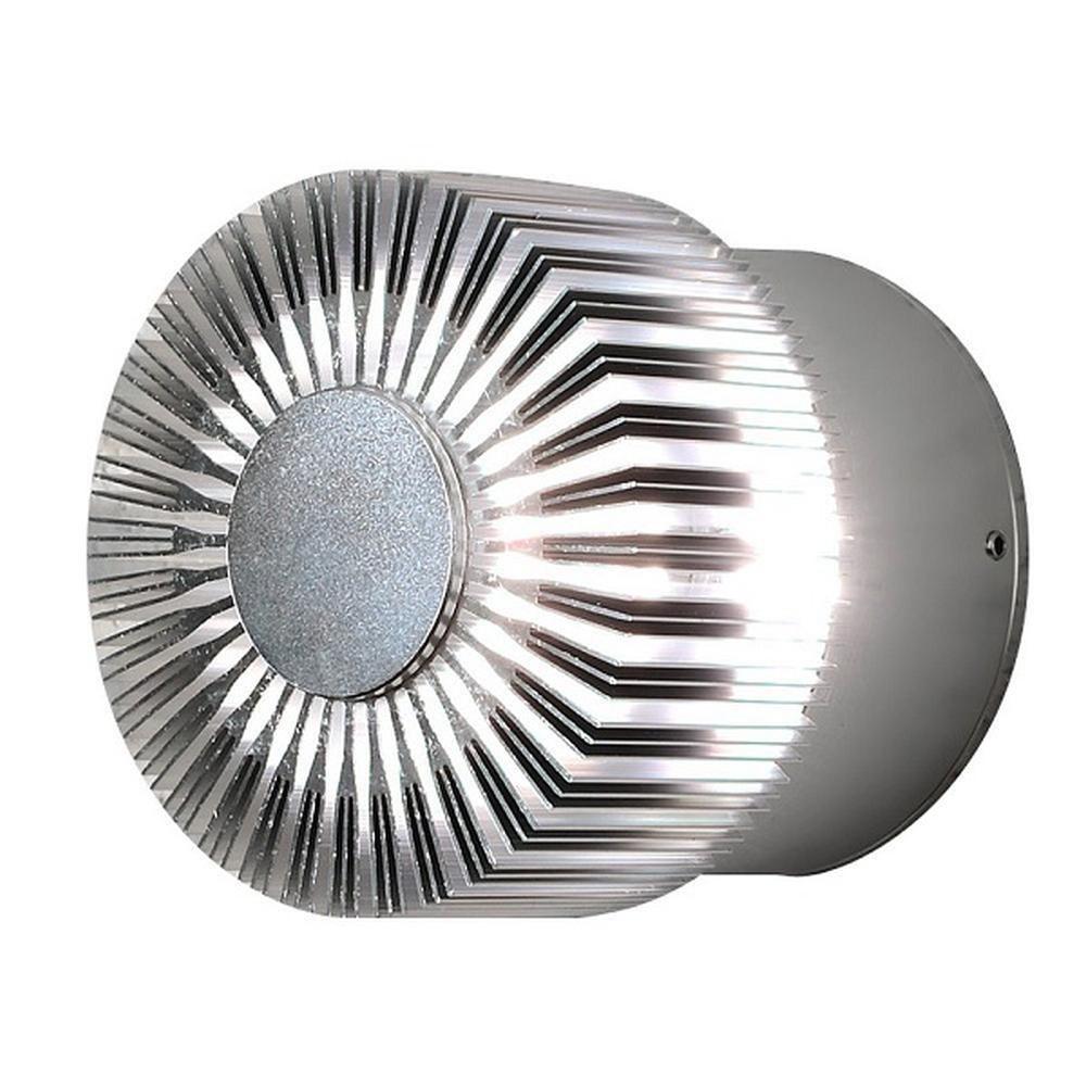 Aluminium massiv LED HighPower Effekt Wandleuchte MONZA IP44 Konstsmide 7900-310