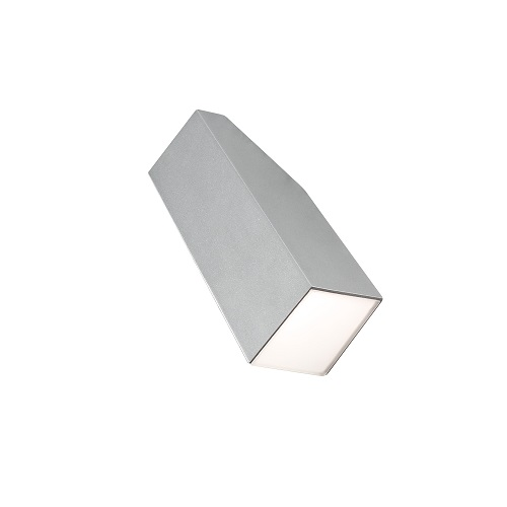 Alu LED High Power Wandleuchte IMOLA, grau außen Konstsmide 7933-310