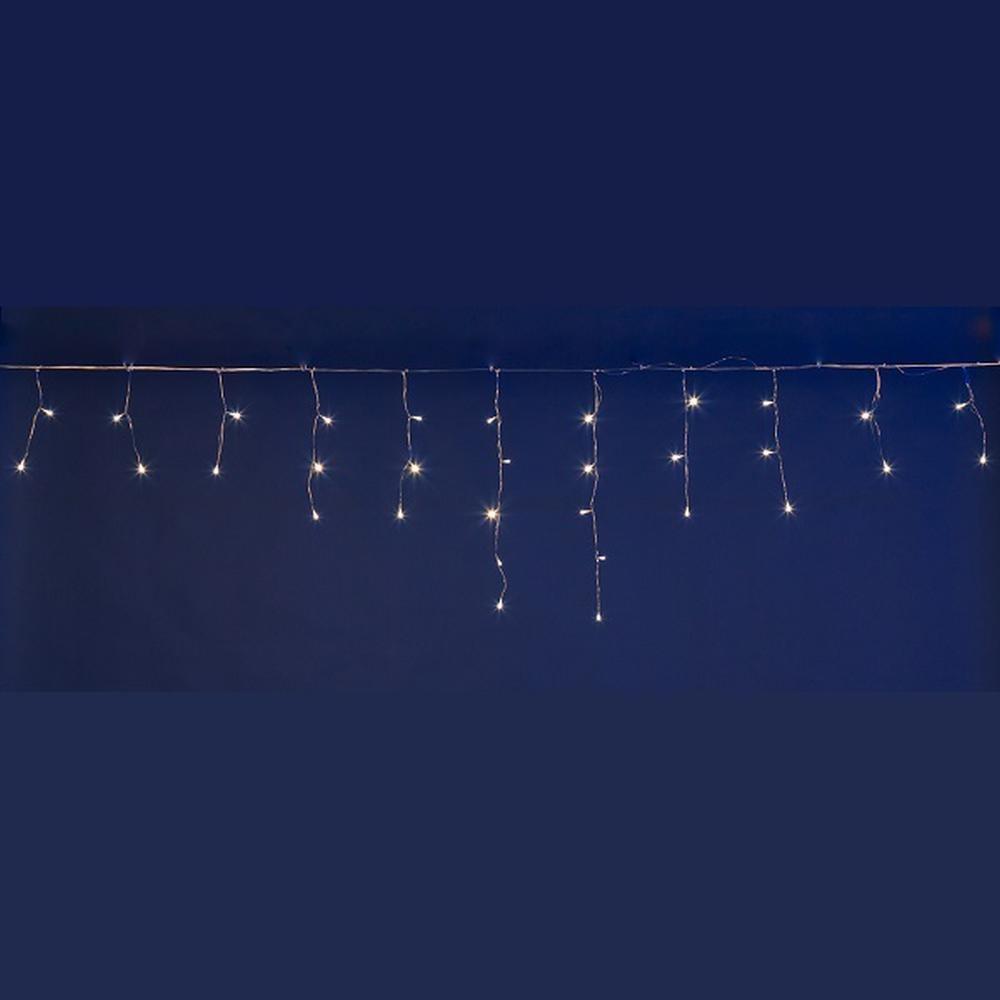 PLB Funktions-System LED Eisregen-Lichterkette 4x0,5m warmweiß 31418