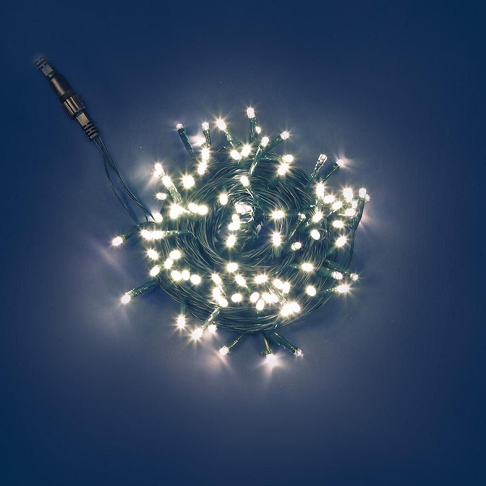 PLB Funktions-System LED Lichterkette 10m Batteriefach warmweiß 31470