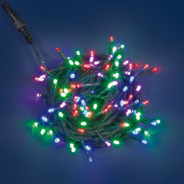 Led System Weihnachtsbeleuchtung.Plb Funktions System Led Lichterkette 10m Batteriefach Multicolor 31494